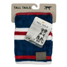 Tall Tails Nautical Stripe Fleece Dog Blanket