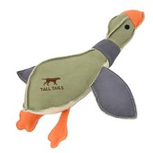 Tall Tails Canvas Duck Dog Toy with Squeaker - 12