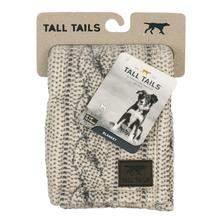 Tall Tails Cable Knit Print Fleece Dog Blanket