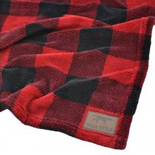 Tall Tails Fleece Dog Blanket - Hunters Plaid