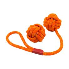 Tall Tails Floating Rope and Tug Dog Toy Set - Orange