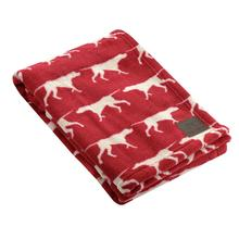 Tall Tails Icon Fleece Dog Blanket - Red