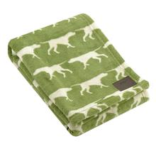 Tall Tails Icon Fleece Dog Blanket - Sage