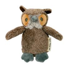 Tall Tails Plush Baby Owl with Squeaker Dog Toy