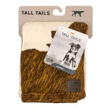 Tall Tails Cowhide Print Fleece Dog Blanket