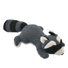 Tall Tails Woodland Character Squeaker Dog Toy - Raccoon