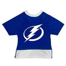 Tampa Bay Lightning Mesh Dog Jersey - Blue with White Trim