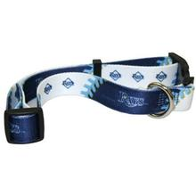 Tampa Bay Rays Baseball Printed Dog Collar