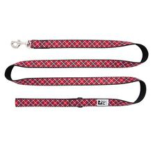 Tartan Dog Leash by RC Pet - Red