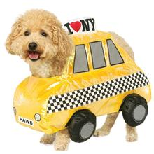 Taxi Cab Halloween Dog Costume