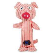 Tennis Heads Dog Toy - Pig