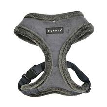 Terry Basic Style Dog Harness by Puppia - Grey