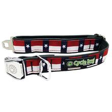 Texas Metal Latch Dog Collar by Cycle Dog