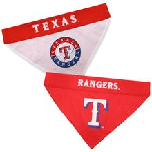 Texas Rangers Reversible Dog Bandana Collar Slider
