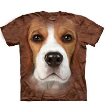 Beagle Face - Human T-Shirt by The Mountain