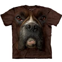Boxer Face - Human T-Shirt by The Mountain
