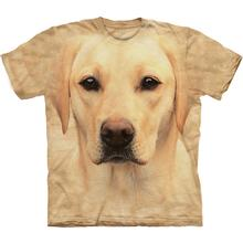 Yellow Lab Portrait - Human T-Shirt by The Mountain