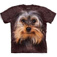Yorkshire Terrier Face - Human T-Shirt by The Mountain