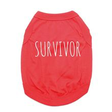 Survivor Dog Shirt - Red