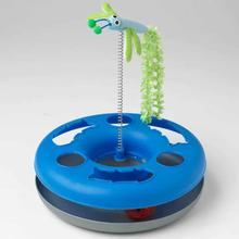 ThinkRageous Interactive Cat Toy with Wand and Jingle Ball