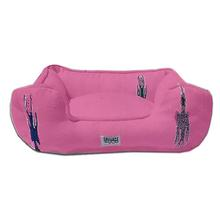 Thunderbird Bumper Dog Bed by Salvage Maria - Pink