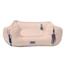 Thunderbird Bumper Dog Bed by Salvage Maria - Tan