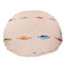 Thunderbird Circulo Dog Bed by Salvage Maria - Tan