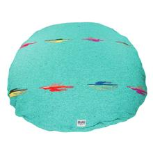 Thunderbird Circulo Dog Bed by Salvage Maria - Teal