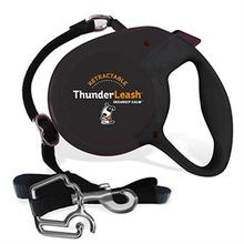 Thunderleash Retractable Dog Leash - Black