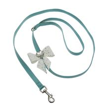 Tiffi's Gift Dog Leash by Susan Lanci - Tiffi Blue