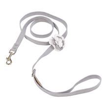 Tinkie's Garden Special Occasion Dog Leash by Susan Lanci - Platinum