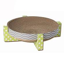 Tiger's Cat Scratcher - Gray/Green