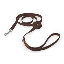 Tinkie's Garden Dog Leash by Susan Lanci - Chocolate