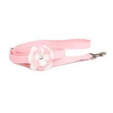 Tinkie's Garden Special Occasion Dog Leash by Susan Lanci - Puppy Pink