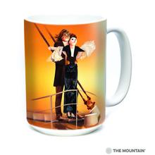Titanic Cats Ceramic Mug by The Mountain