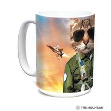 Tom Cat Ceramic Mug by The Mountain