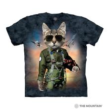 Tom Cat Human T-Shirt by The Mountain