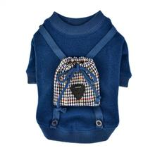 Tommy Dog Shirt by Puppia - Navy