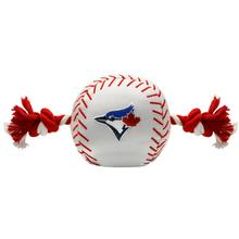 Toronto Blue Jays Nylon Plush Baseball Rope Dog Toy