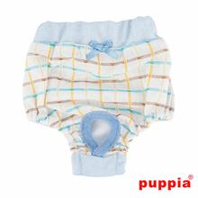 Tot Dog Sanitary Pants by Puppia - Sky Blue