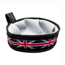 Trail Buddy Portable Dog Bowl by Cycle Dog - Union Jack