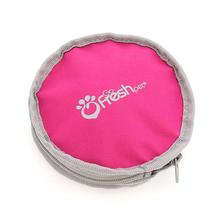 Travel Dog Bowl Set by Go Fresh Pet - Pink
