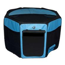 Travel Lite Soft-Sided Pet Pen - Ocean Blue