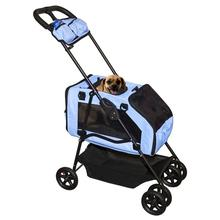 Travel System Dog Stroller - Blue