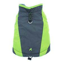 Trekking Dog Jacket by Gooby - Lime Green