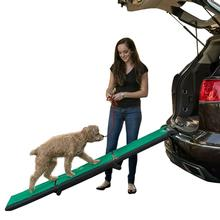 Tri-Fold Travel Lite Pet Ramp with SupertraX