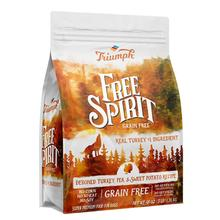 Triumph Pet Free Spirit Grain-Free Dry Dog Food - Deboned Turkey, Pea & Sweet Potato Recipe