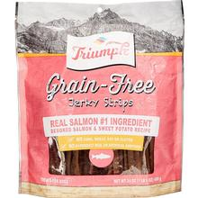 Triumph Pet Grain-Free Jerky Strips Dog Treat - Deboned Salmon & Sweet Potato Recipe