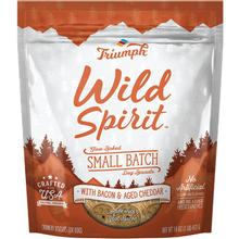Triumph Pet Wild Spirit Small Batch Slow-Baked Biscuits Dog Treat - Bacon & Aged Cheddar Recipe