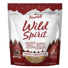 Triumph Pet Wild Spirit Small Batch Slow-Baked Biscuits Dog Treat - Pumpkin & Cinnamon Recipe